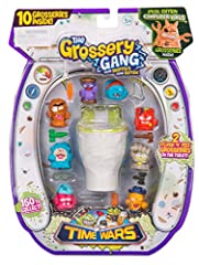 Comes with 8 Grosseries on display with two hidden surprise Grossery inside the Flush 'n' Fizz toilet! Pour in water and watch 2 Grosseries fizz out form the bowl! Comes with 8 weapon accessories for your Grosseries. Look out for the Limited Edition ...