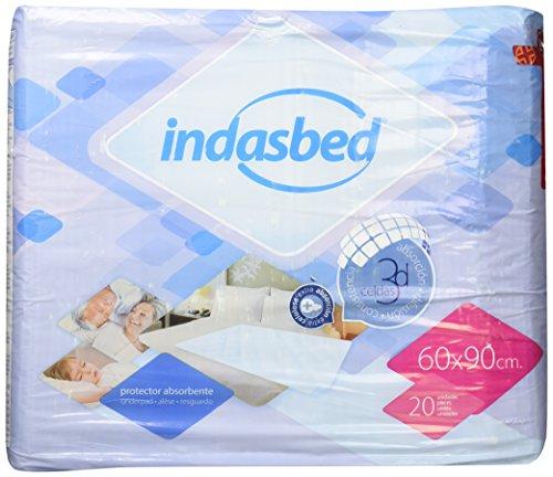 linea: S/úper 60/x 60/cm,/20/pz Teli protettivi per letto Indasbed