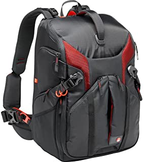 Manfrotto Pro Light 3N1-36 Photography Backpack for Cameras, Reflex, Drones, Holds up to 3 Cameras and 5 Lenses, with Pocket for Tablet and 15