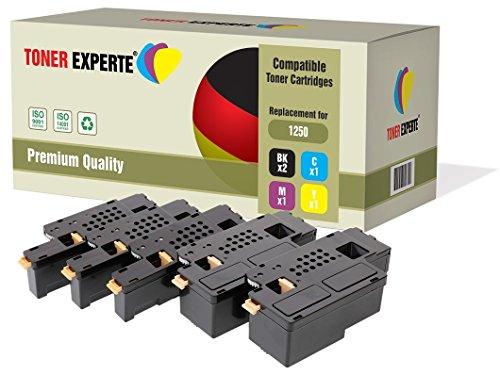 TONER EXPERTE® 5 Premium Toner kompatibel für Dell 1250c, 1350cn, 1350cnw, 1355cn, 1355cnw, C1760nw, C1765nf, C1765nfw, C17XX