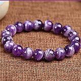 Purification Bracelet - Handmade Natural Semi-Precious Amethyst Bracelet - Stone...