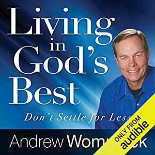 Living in God's Best audiobook cover art