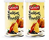 Gefen Aluminum Free Baking Powder, 8oz (2 Pack), Total of 1LB, Gluten Free, Cornstarch Free