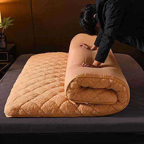 Matte opvouwbare matras van pluche warme etagère bed topper Tatami eenpersoonsbed tweepersoonsbed 120x200cm(47x79inch) C