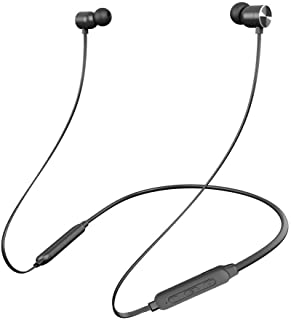 【防水進化版 IPX5対応】Aoma Bluetooth イヤホン 10MMドライバー搭載 高音質 [メーカー1年保証] ワイヤレスイヤホン bluetooth4.2 スポーツ ランニング仕様 ipx5防水 低音重視 6-8時間連続再生 Hi-Fi 左右一体型 カナル型 高遮音性 apt-Xコーデック採用 人間工学設計 マグネット搭載 ブルートゥースイヤホンiPhone、iPod、Andriod用(ブラック)