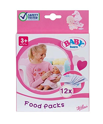 Baby Born - Papilla muñeca (12 sobres) (Bandai 779170)