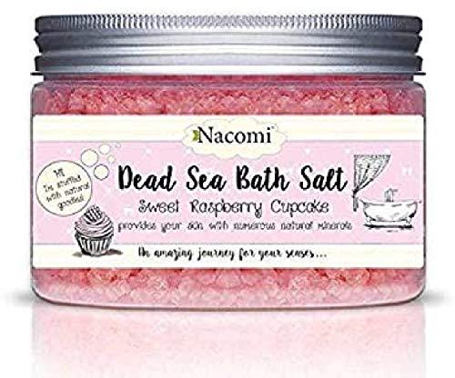 NACOMI Dead Sea bath salt Sweet raspberry cupcake 450g