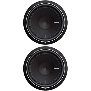 """Rockford Fosgate Pair of 2 Punch P1 15"""" 1000W 4-Ohm SVC Subwoofers 
