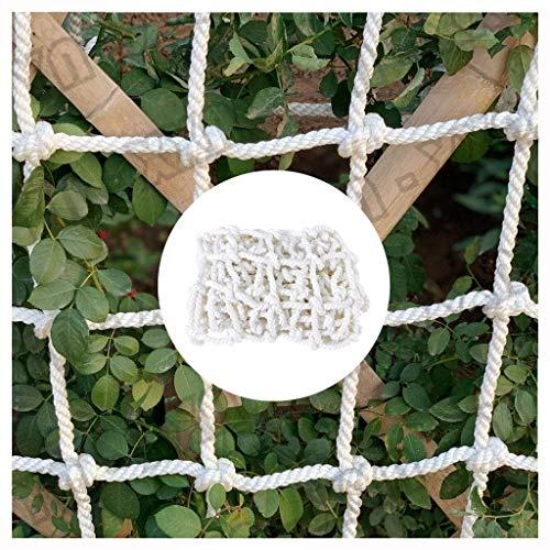 Style-Protective net Kinder Balkon Schutznetz Stairs AbsturzNetze BAU Sicherheitsnetze Geländer Zäune Frachtnetze Pet Netze Weiß Seilnetze Spielplätze Hängebrücken Swings Stadien Garten (Size : 3x3m)