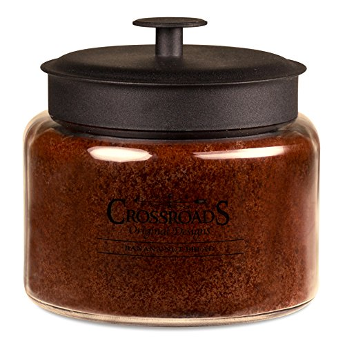 Crossroads Banana Nut Bread Scented 4-Wick Candle, 64 Ounce
