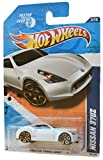 370z wheels - Hot Wheels 2011 Faster Than Ever 3/10 Nissan 370Z 143/244, White