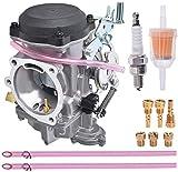 Rebuild - Carburador de repuesto para Harley Davidson Big Twin Sportster 883 1200 Electra Glide H-D Dyna XL883 XL 883 CARB XLH883 27490-04