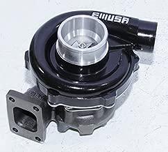 EMUSAT3/T4 Hybrid Turbo Charger .50 A/R Compressor .63 A/R Turbine Wheel universal turbo (BLACK)