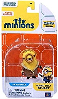 Thinkway Despicable Me Minions Movie Bored Silly Stuart Action FIgure