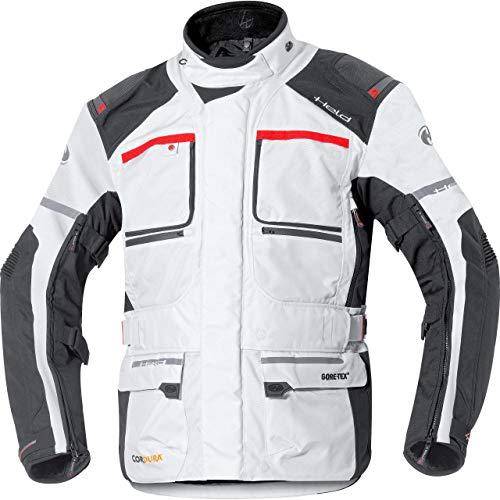 Held Carese II Tourenjacke GTX, Farbe grau-schwarz, Größe L