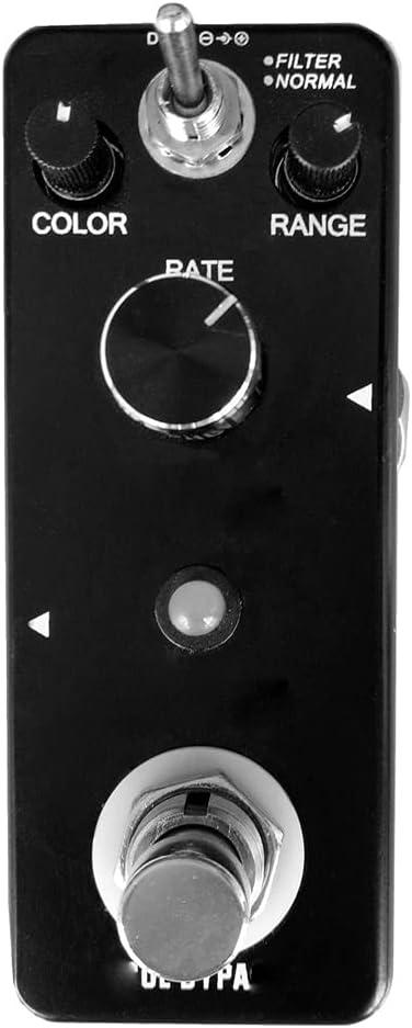 AYDQC LN-312 Accesorios de Guitarra de aleación de aleación de aleación de aleación de Aluminio Verdadero de Bypass para la Guitarra