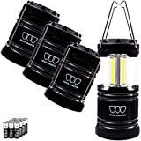 Gold Armour LED Camping Lantern, 4 Pack & 2 Pack, 500 Lumens, Survival Kits for Hurricane Emergency...