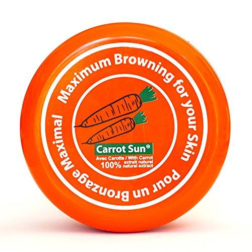 Carrot-Sun ® Bräunungsbeschleuniger Bräunungscrem mit Karottenöl, L-Tyrosin und Henna für eine...