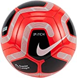 Nike PL NK PTCH-FA19 Ballon de Football Unisexe pour Adulte Multicolore (Bright Crimson/Black/Grey/White) 5