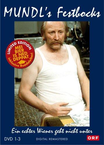 Edmund's Festbocks - Mundl - Ein echter Wiener geht nicht unter DVD 1-3 + T-Shirt