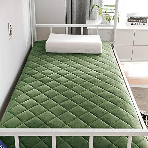 Huan Tatami colchón de la Cama, Zapatillas Plegable futón for Dormir Tatami Estera del Piso Transpirable Terciopelo Grueso de Litera Estudiante Dormitorio Colchón