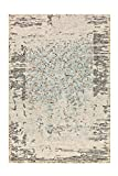 Arte Espina Damast 8067 - Alfombra, Grau/Mint, 120 cm x 180 cm