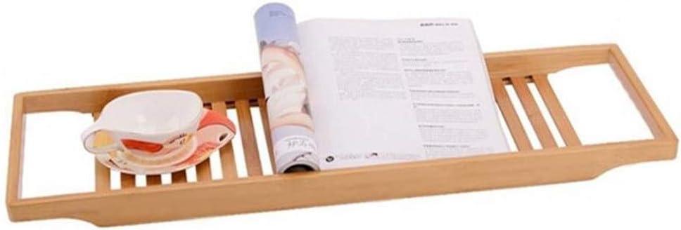 HEMFV Bathtub Tray Solid Now online shopping on sale Rack S Bathroom Wood