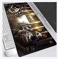 マウスパッド Rainbow Six Siege 800X300mmマウスパッド、高速ゲーミングマウスパッド、ラバーテクスチャ、ベース厚3mm、ノートブック、PC D用