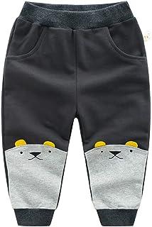 HOSD Pantalones de algodón para niños 2019 Primavera niño Pantalones de Dibujos Animados Pantalones para niños