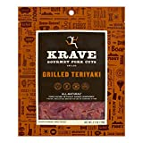 KRAVE Grilled Teriyaki Pork Jerky 4 Pack | Premium Chef Crafted Meat Cuts With Unique Flavors and No...