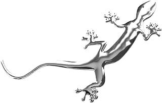 PRESKIN   3D Chrom Auto Gecko Aufkleber Gekko Emblem Decal Logo Sticker (StickerGekko)
