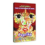 Paprika Anime Movie Vintage art Canvas Poster Wall Art Decor Print Picture Paintings for Living Room Bedroom Decoration DONGDA Poster Frame:24×36inch(60×90cm)