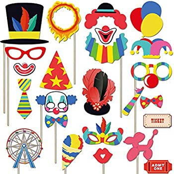 Best carnival photo booth props Reviews