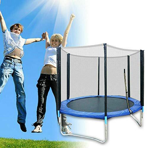Children's Trampoline Garden Trampoline Outdoor Indoor Trampoline Sports Trampoline Jumping Mat with Safety Net Load 300 kg