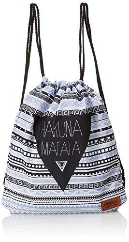 Loomiloo Beutel Hakuna Matata - Turnbeutel - Sportbeutel - Tasche für Kinder und Erwachsene - Rucksack - für Damen und Herren - Disney Geschenk