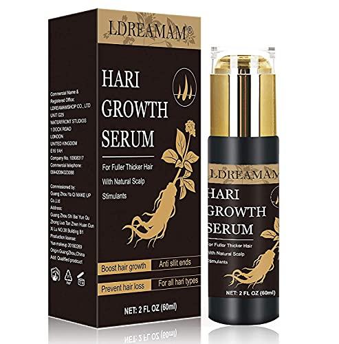 Hair Serum,Aceite para Crecimiento del Cabello,Crecimiento del Cabello,Tratamiento para el Cabello,Tratamiento Cabello,Estimula el Crecimiento Cabello para Hombres y Mujeres