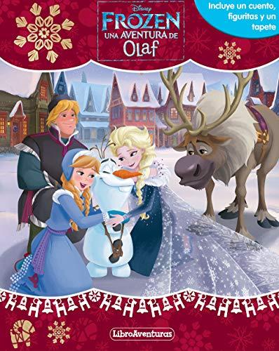 Frozen. Una aventura de Olaf. Libroaventuras: Incluye un cuento, figuritas y un tapete