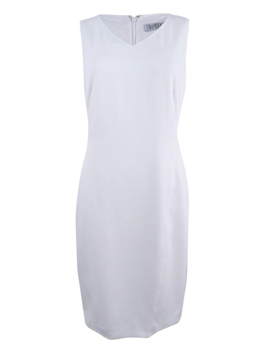Available at Amazon: Kasper Women's Knit Pique Dress