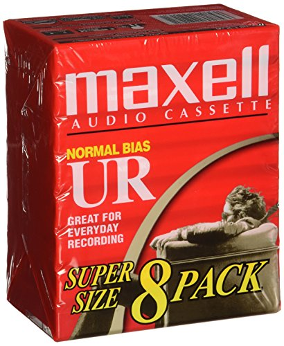 Price comparison product image Maxell 109085 Brick Packs Optimally Designed for Voice Recording,  Low Noise Surface with 60 Min Recording Time Per Tape