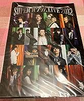 "SUPER ハンサム LIVE 2012グッズ/ハンサム""クリアファイル"""