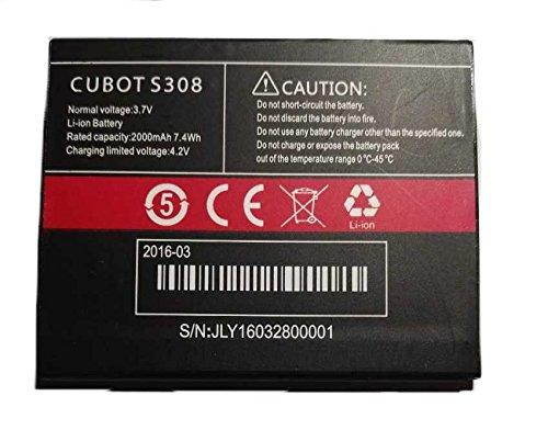 Todobarato24h Bateria CUBOT S308, 2000 mAh