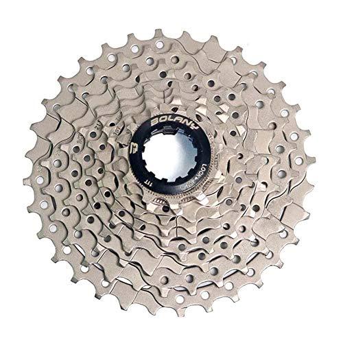 YOBAIH Rueda Libre MTB Bike Freewheel 8S / 9S 25 28 32 40 42T Mountain Bike Bike Flywheel 8 9 Velocidad Cassette Sprocket Piezas de Rueda Libre (Color : 9 Speed 32T)