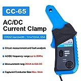 Hantek CC-65 - Multímetro digital con pinza, con conector BNC, para CA y CC