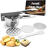 Best Potato Ricers - Aezek Potato Ricer and Masher, Makes Light Review