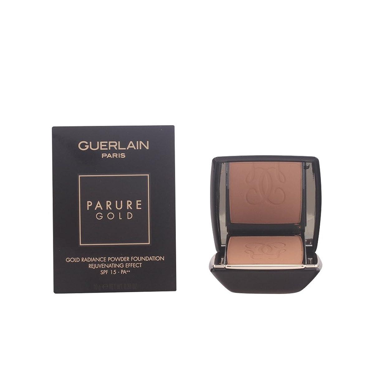 豊かなライフル贈り物ゲラン Parure Gold Rejuvenating Gold Radiance Powder Foundation SPF 15 - # 05 Beige Fonce 10g/0.35oz