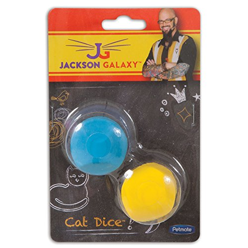 Petmate Jackson Rubber and Soft Galaxy Cat Dice -$3.35(66% Off)