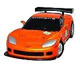 Eureka 52473412 Corvette C6R - Puzzle 3D, Escala 1:32, Color Naranja