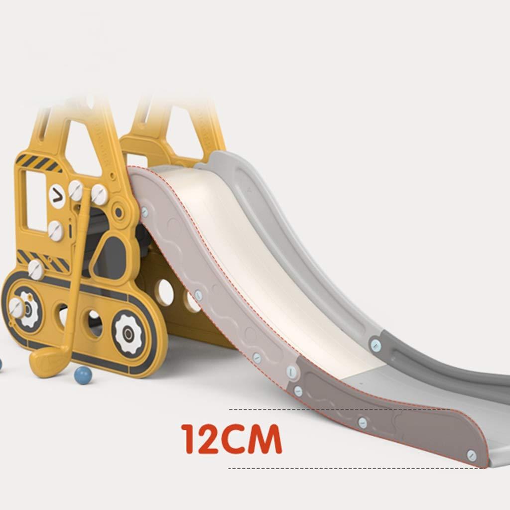 Diapositiva Toboganes para Niños Escaleras para Niños Hogares Interiores Jardines De Infancia Parques Infantiles Pequeños Juguetes Multifuncionales (Color : Yellow, Size : 175 * 36 * 82cm): Amazon.es: Hogar