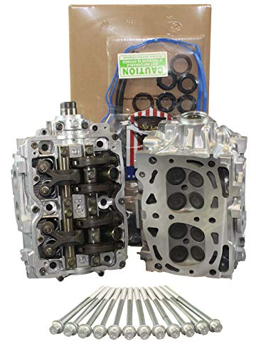 Remanufactured Cylinder Heads for Legacy Outback Forester Impreza 2.5 SOHC # L25 w/Head Gasket Set & Head Bolt Kit (CORE RETURN REQUIRED)