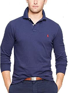 Polo Ralph Lauren Men's Long Sleeve Mesh Polo Shirt